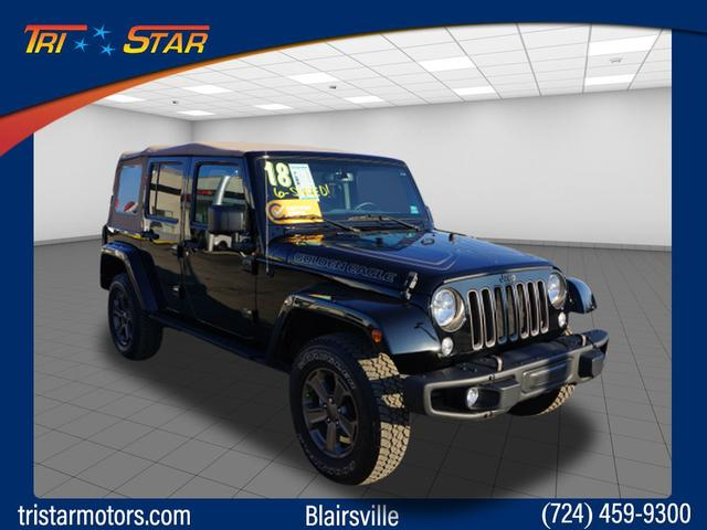 Pre-Owned 2018 Jeep Wrangler Unlimited Golden Eagle