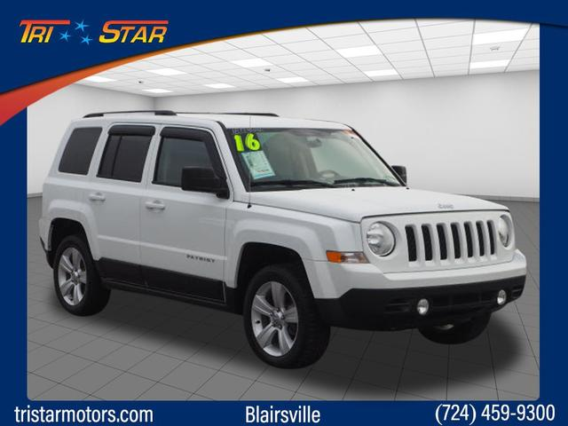 Pre-Owned 2016 Jeep Patriot Lattitude