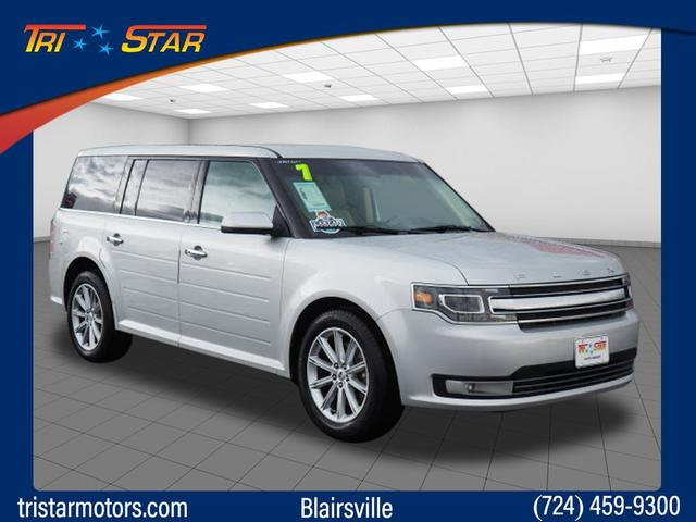 pre-owned 2017 ford flex limited awd limited 4dr crossover in