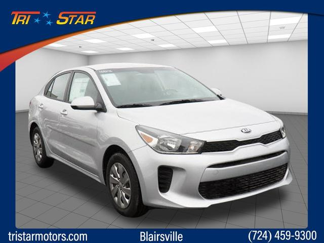 New 2018 Kia Rio S 4dr Car In Blairsville 18a246 Tri Star Kia