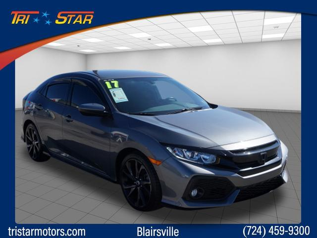 Pre-Owned 2017 Honda Civic Hatchback
