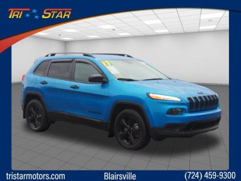 Pre-Owned 2017 Jeep Cherokee Sport Altitude