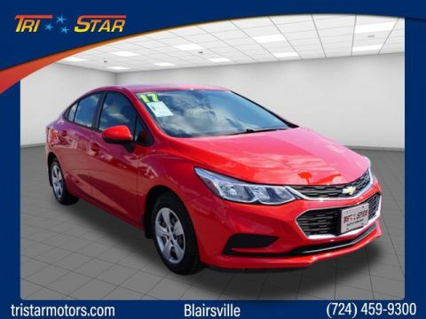 Pre-Owned 2017 Chevrolet Cruze Sedan